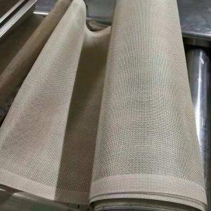 工业皮带_厂家高温特氟龙输送带干燥传送网带供应工业皮带批发