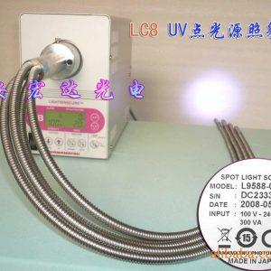 点光源照射机_原装日本滨松LC-8L9588-02UV机,点光源照射机