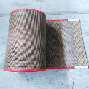 特氟龙网格输送带_涂布机特氟龙网格输送带pe保护膜涂布机用铁氟龙