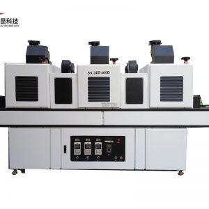 紫外光uv固化机_厂家直销紫外光uv固化机上下吸风低温型