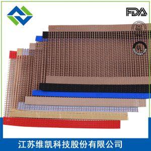 特氟龙输送网带_江苏维凯厂家特氟龙输送网带烘干网带耐高温传送6018