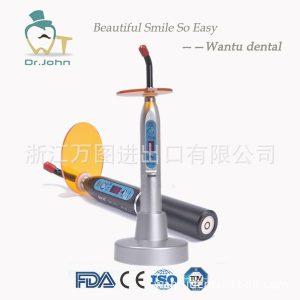 牙科光固化机_牙科光固化机LED光固化灯金属外壳光敏固化机光敏灯导光棒