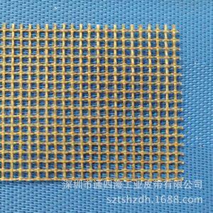 特氟龙网带_咖啡色特氟龙耐高温网带及uv机传送皮带