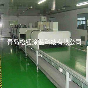 静电发生器_无尘uv固化设备静电发生器喷漆uv流水线