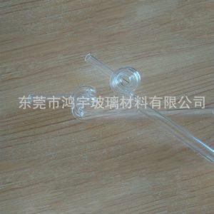 石英玻璃管_厂家直销镀膜石英烤弯片大外径石英玻璃管小口径石英