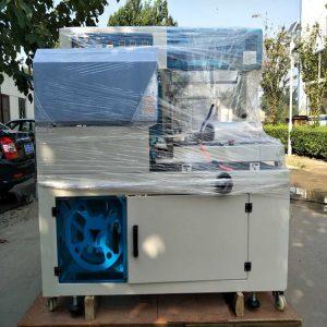 全自动热收缩包装机_包装机自动热收缩包装机纸盒套膜特氟龙网带收缩机