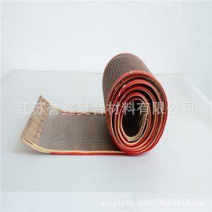 特氟龙网格输送带_专业生产烘干脱水网带-特氟龙网格输送带