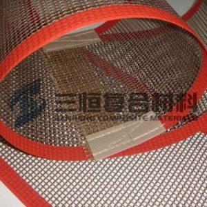 铁氟龙网带_精品推荐涂布机网格带铁氟龙传送网带特氟龙输送