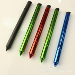 长款斜口触屏笔_厂家直销长款斜口触屏笔ipad触控笔uv电容笔1.7两用