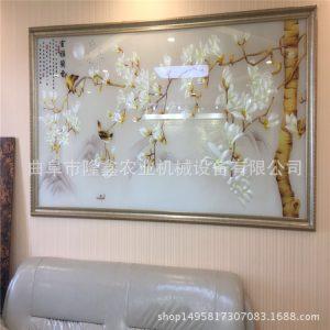 彩色打印机_淋幕机uv彩色打印机影视墙固化机平面板上光