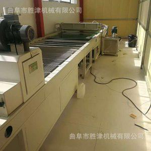 uv光油淋涂机_橱柜家具板材uv光油淋涂机固化机流平机流水线一体机淋幕机
