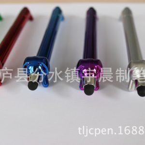 电容手写笔_供应时尚创意小狗触控笔uv镀触屏笔小狗电容