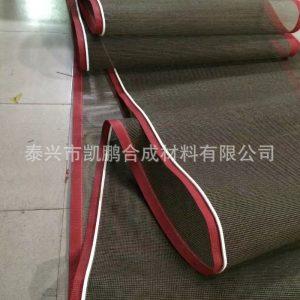 特氟龙网格输送带_玻璃后烘干网带耐高温网格输送带丝印烘干机