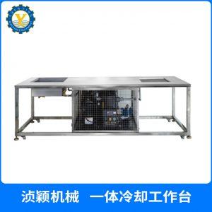 冷却流水线_pvc商标配套隧道炉自动滴塑流水线