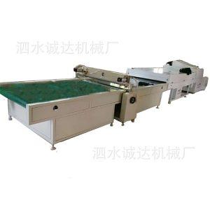 淋涂固化一体机_uv瓷砖光油淋涂固化机1000宽淋涂固化一体机一米