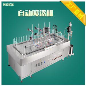 涂装流水线_工业半自动喷油线环保UV漆固化机往复式喷漆线小型涂装流水线