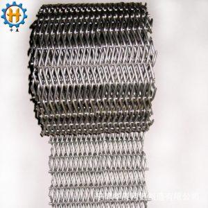 不锈钢网带_定制人字网带耐高温不锈钢不沾烤炉直销