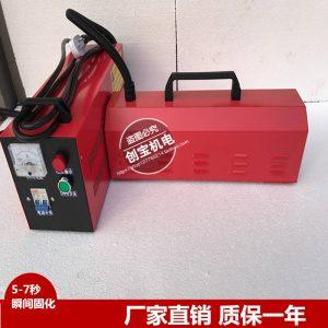 高压汞灯_红色手提uv灯2kw400mm紫外线固化机220vuv油墨高压固化