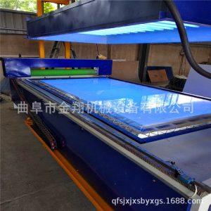 光油uv漆固化机_板材光油UV漆固化机橱柜板UV漆光固机隧道式烘干固化效果好