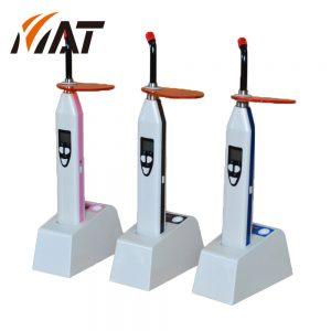 牙科光固化机_无线感应多功能led光固化机手枪式牙科光固化机