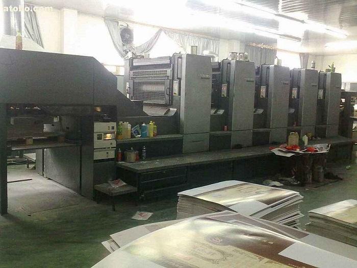 传统高压汞灯uv印刷机改装UVLED固化机固化应用案例
