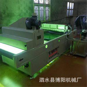 性能稳定固化机_橱柜家具板材uv光油集成墙板uv光油淋幕机性能稳定固化机