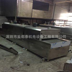 流水线烘箱_东莞市厂家非标定制铁氟龙隧道炉流水线烘箱可高温500度