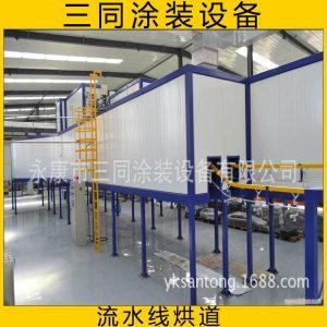 涂装设备_涂装设备厂家悬挂烘干流水线烤漆烤粉隧道式烘箱