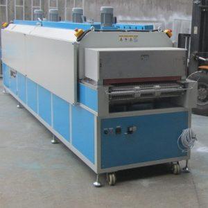 隧道式烘箱_隧道式烘箱热风隧道烤箱传输带传动流水线高温