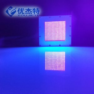 喇叭紫光灯_喷码uvled面光源固化灯紫外线光固设备汽车喇叭紫光灯600w