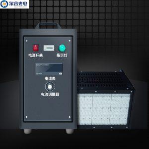 低温uv固化机_350*150紫外线led面光源/395nm冷光型uv低温uv固化机