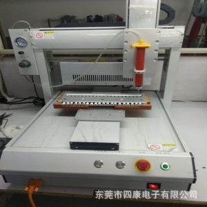 自动机拷打一体机_三轴数据线带uv灯高速uv一体式喷胶自动机拷打