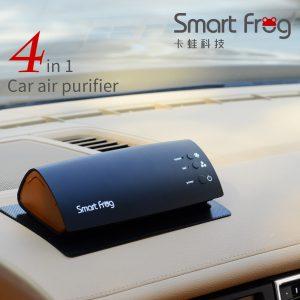 空气净化器_卡smartfrog多功能uv灯负离子光触媒香薰机车载桌面空气净化器