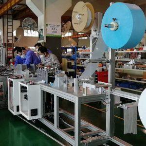 自动生产线_kn95/n95/kf94超高速口罩生产线口罩机