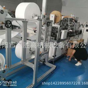 折叠口罩机_供应口罩机c型n95一次性无纺布折叠厂家