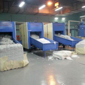 无胶棉设备_厂家直供口罩设备无纺布热风棉生产线无胶棉设备