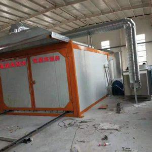 生物颗粒_高温房高温固化炉液化天然气生物颗粒高温房带环保设备