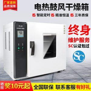 箱式干燥设备_鼓风干燥箱电热恒温小型烘箱静音实验室烘干箱工业烤箱老化烘干机