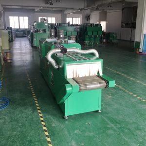 烘干固化设备_厂家直销小型网带式隧道炉热风循环隧道炉高温隧道烘干线