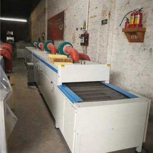 带式干燥设备_隧道式烘干线红外线隧道炉工业烘干设备厂家