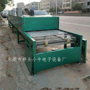 烘干固化设备_定制耐高温烘烤线隧道炉网带线喷油生产线电热恒温烤箱流水线
