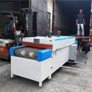 带式干燥设备_定制恒温隧道炉小型红外线烘干固化设备丝印带式干燥机厂家直销