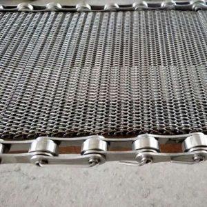 网带_供应隧道炉人字形网带淬火炉加密网带食品烤炉用不锈钢网链