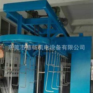 工业烤箱_东莞大型工业烤箱挂式烘干箱吊空炉隧道式输送炉PLC控制烤箱