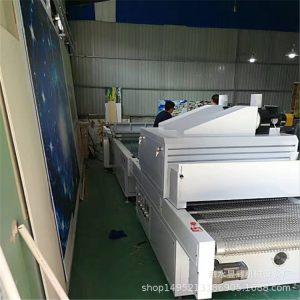 涂装机_自动化涂装设备固化淋涂一体生产线设备家具平面板材uv淋幕机