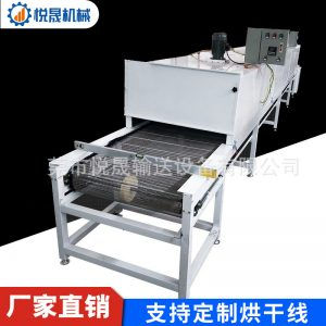 烘干固化设备_定制隧道炉烘干线耐高温不锈钢网带烘干线高温丝印隧道流水线