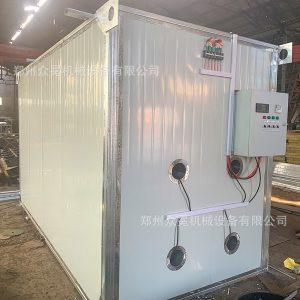 箱式干燥设备_食物烘干机器众冕食品隧道式烘干机热风炉烘干房