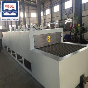 烘干固化设备_鸣光大型食品隧道炉非标定制坚果类烘干厂家供应烘干流水线