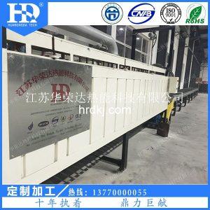 工业电炉_达克罗涂覆固化炉达克罗隧道炉华荣达达克罗烘干全自动生产线