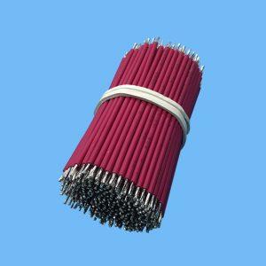 厂家直销UL326624AWG无卤线辐照交联PE电子线机器内部配线定制